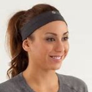 Black Lululemon Headband